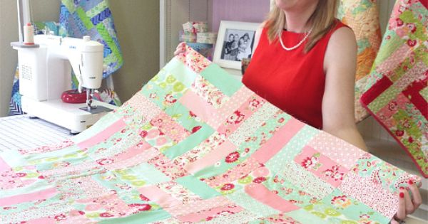 The Jelly Roll Jam Quilt Pattern Free From Fat Quarter