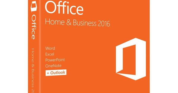 Microsoft Office 2016 Home  Business - 1 PC - Medialess by