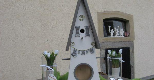 gartendekoration vogelvilla vogelhaus nistkasten. Black Bedroom Furniture Sets. Home Design Ideas