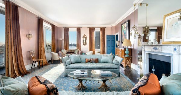 This 9m New York City Duplex Might Be The Most Impressive Home I Ve Ever Seen Dining Room Windows Home Duplex