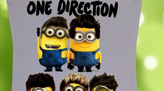 Despicable Me 2 Minion Shirt | Community Post: The 36 One Direction