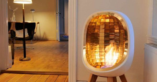 The Decorative And Chimneyless Piet Fireplace By Swedish Designer Fredrik Hylt N Cavallius A
