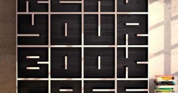 READ YOUR BOOKCASE / design by Eva Alessandrini and Roberto Saporiti. WILL