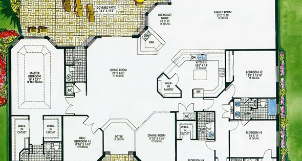 Luxury Floor Plans Hanover Luxury Home Plan Floor Plan