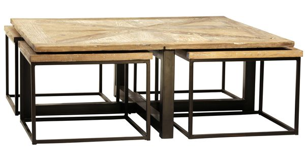 Furniture Drayton Nesting Coffee Table With Black Iron  : 616893a19484cb1155e3b0eb3cd80127 from www.pinterest.com size 600 x 315 jpeg 26kB