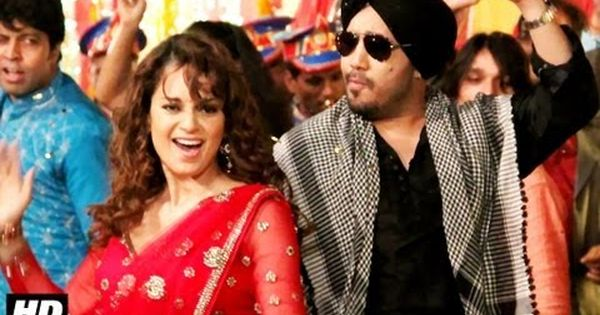 Jugni Tanu Weds Manu Full Song Hd Uncut Kangana Ranaut Mika Singh Red Sari Mika Singh Fashion