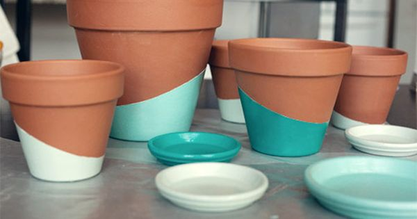 26 creative things to do with a terracotta pot for Creative things to do with paint