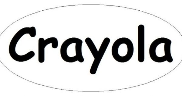 Printable Crayola Logo | Crayola Crayon Logo | Halloween ...