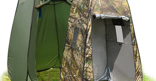 Tall Pop Up Shelter : Portable changing tent camp toilet pop up room outdoor