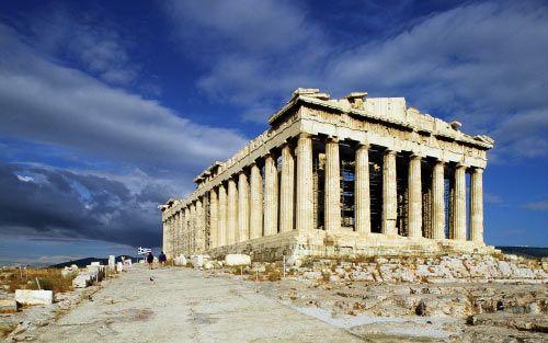 Partenón Griego Partenón De Atenas Acropolis De Atenas Arquitectura Griega Antigua