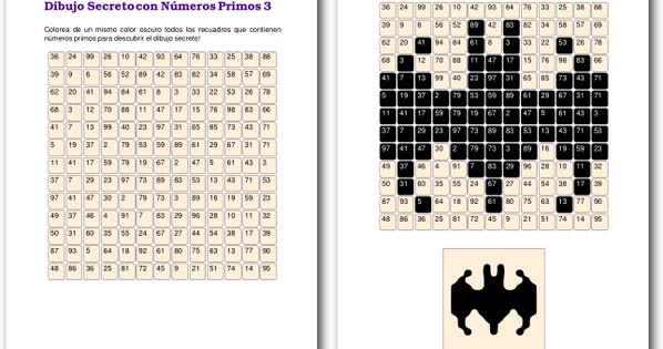 Juegos Con Números Primos Números Primos Juegos Con Numeros Multiplos Y Divisores
