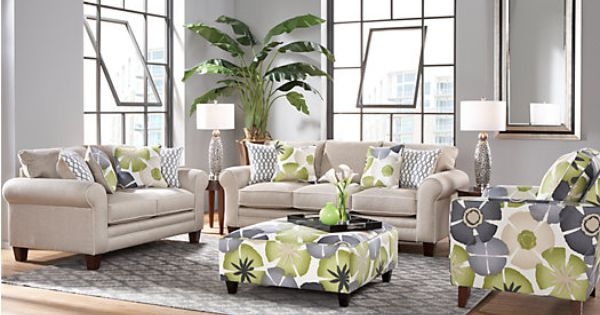 Shop For A Lilith Pond 3 Pc Living Room At Rooms To Go