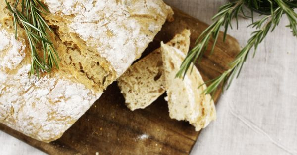 Easy rosemary beer bread | FOOD! | Pinterest | Beer Bread, Breads and ...