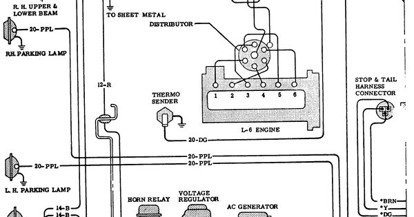 64 c10 chevy truck wiring diagram  64  free engine image