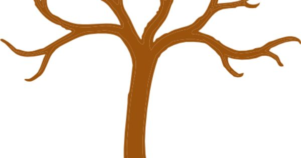 Tree with No Leaves | Tree clip art - vector clip art ...