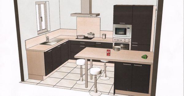 Plans Cuisine : Cuisine En U Plan : Plan De Cuisine | cuisine ...