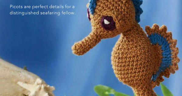 Free Amigurumi Seahorse : Seahorse - Free Crochet / Amigurumi Pattern Ruths ...