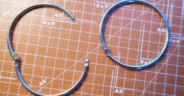 2 1 2 Inch Loose Leaf Rings Book Rings Binder Rings Two Rings Book Rings Hinged Ring Leaf Book