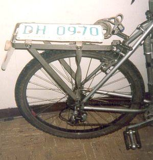 Diy Heavy Duty Cargo Rack Diy Bike Rack Rear Bike Rack Touring