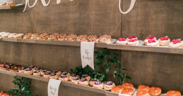 20 creative wedding food bar ideas for your big day boda for Food bar 168