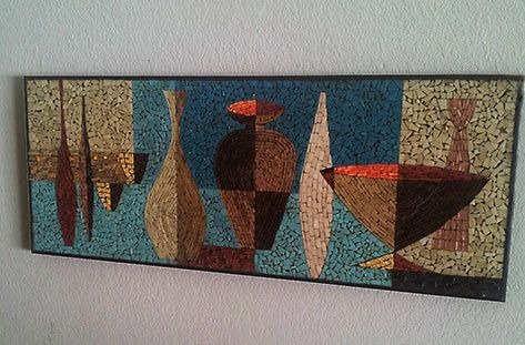 Ceramic Wall Art Panels And Plaques Mid Century Wall Art Mosaic Wall Art Ceramic Wall Art