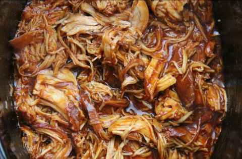 The Best Crock Pot BBQ Chicken 2 lbs boneless, skinless chicken breasts