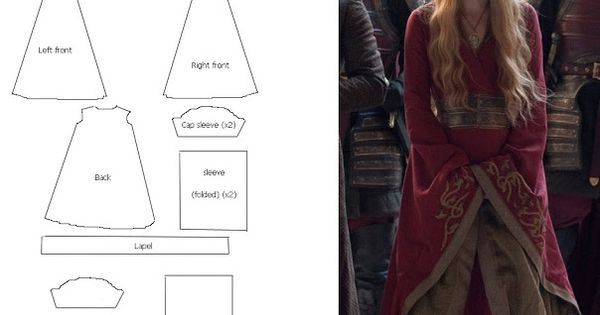 Princess Dragon - Ylenia Manganelli : Cersei Lannister Gown - Costume TUTORIAL
