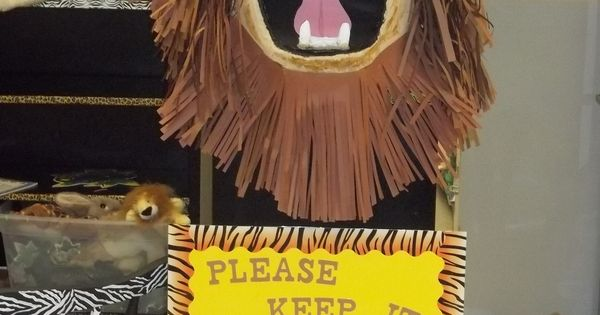 Lion Head My Husband Made Out Of A Cardboard Box Quot Wild