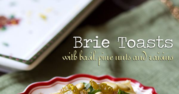 Brie, Pine and Basil on Pinterest