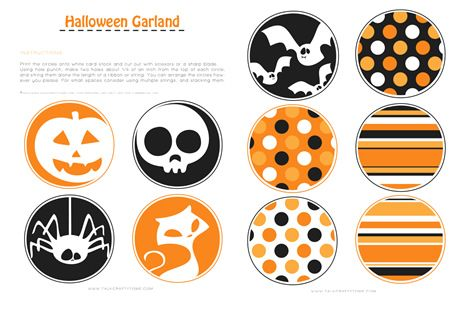 Blog Love Halloween Decorations Crafts Halloween Printables Free Halloween Garland Halloween Banner