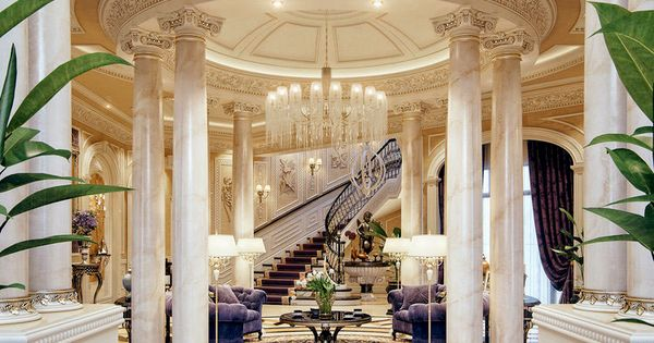 Foyer Architecture Qatar : The most awesome images on internet mansion interior