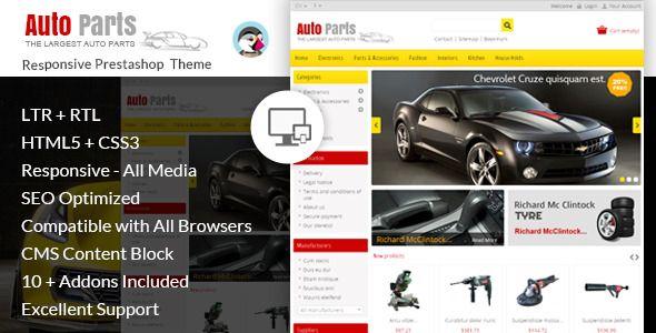 Auto Parts Tools Prestashop Theme Parts Auto Tools Theme Prestashop Themes Auto Spare Parts Web