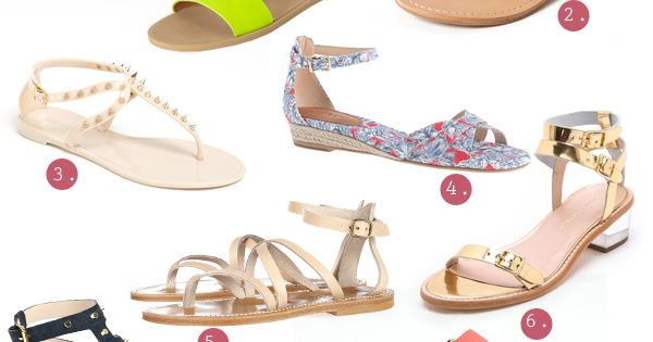 Read on to see 10 of my favorite sandal styles for summer...