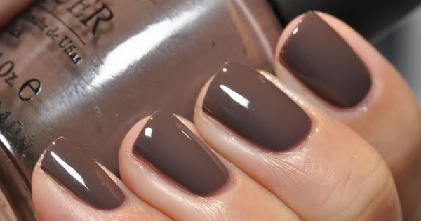 Favorite Fall Nail color = OPI's You Don't Know Jacques
