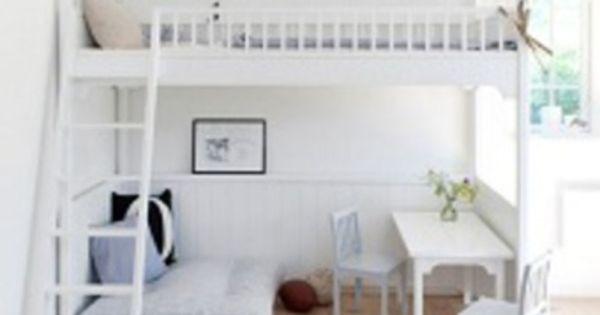 Bijzondere hoogslaper maar ook heel erg duur kameridee n pinterest hoogslaper - Tiener meisje mezzanine slaapkamer ...