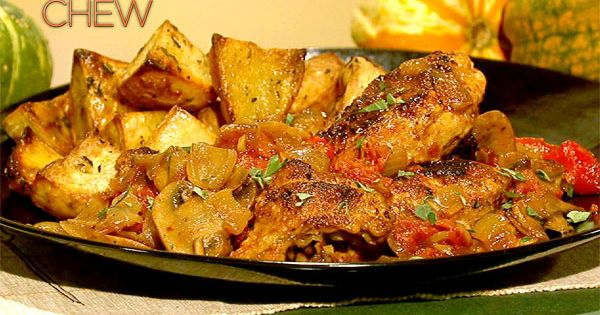 Stanley Tucci's Chicken Cacciatore - An awardwinning recipe!