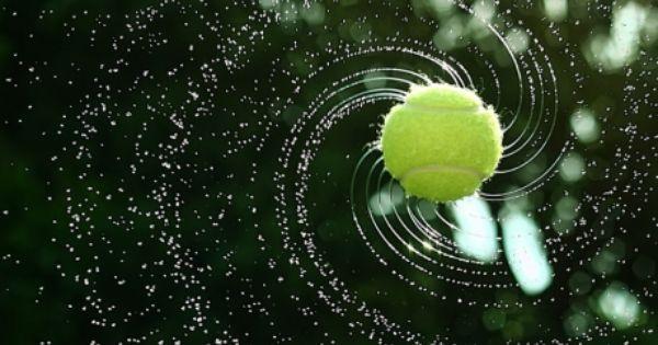 Awesome Photo Of A Wet Tennis Ball Tennis Wallpaper Tennis
