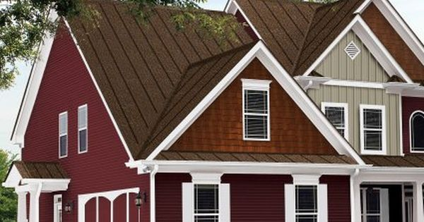 Houses With Brown Metal Roof Steel Roofing Metal
