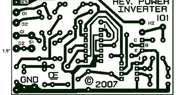 1000w Power Inverter Pcb Layout Design Power Inverters Electronics Circuit Circuit Board Design