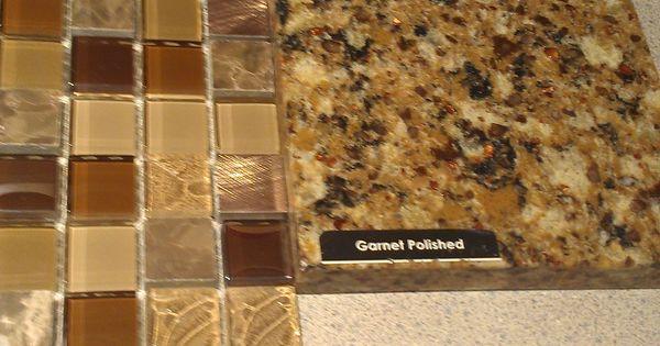 Kitchen Countertop And Backsplash Pental Quartz Garnet