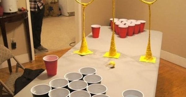Quidditch Pong: College Student Louis Mensinger Invents Drinking Game That Harry Potter