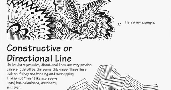 Classroom Ideas For Middle School ~ Free ande cook s expressive and directional line handout