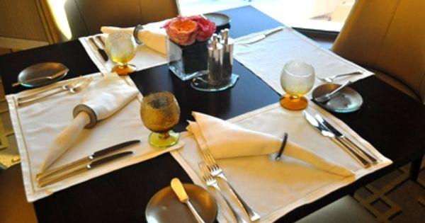 Restaurant Table Setup For All Day Dining At St Regis Doha