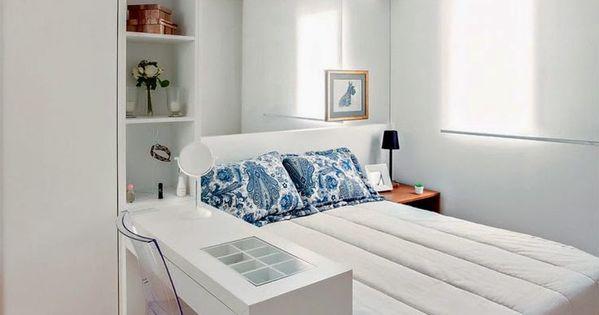 21 fotos de decoraci n de dormitorios peque os modernos - Dormitorios pequenos modernos ...