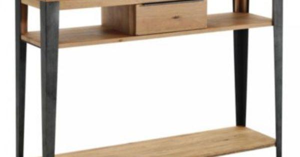 Produit Manhattan Console 1t Gris Chene Oak Theme Deco 100 Naturelle Ajoute A La Liste De Michel Via 35ansfly Fr Meuble Fly Console Salon Meuble Maison