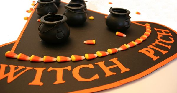 Witch Pitch {Games for Halloween} ~ Witches and Warlocks of all ages