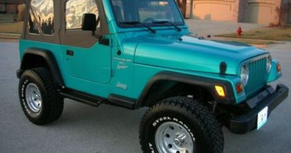 Jeep Wrangler This Color Is Awesome 1997 Jeep Wrangler Jeep