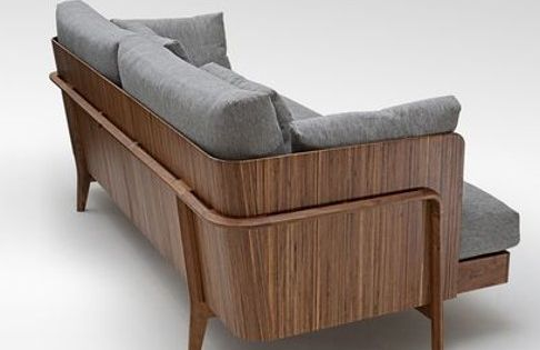 Pin By Everything Creative On Things We Love Wood Sofa
