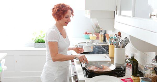 Sauteed Chicken in Mustard Cream Sauce (Martha Stewart) | Food ...