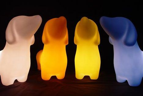 weiner dog lamps!!!! Dachshund Lamp by offi